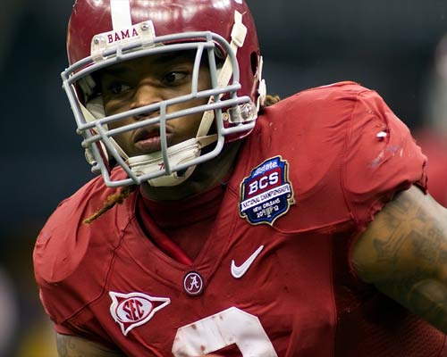 Alabama Crimson Tide running back Trent Richardson